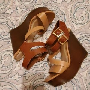 EUC Bamboo Sandals